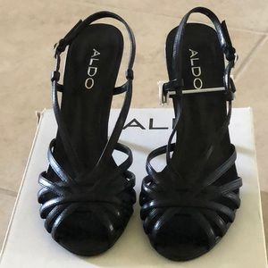 Brand new never worn dressy open toe heels.